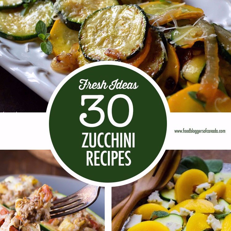 30 Zucchinin Recipes Dark